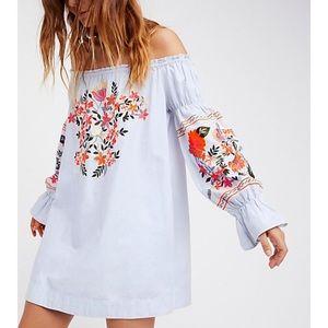 Free people off the shoulder floral dress