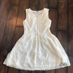 H&M lace floral dress