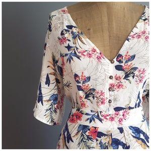 920c546f19e American Eagle Outfitters Pants - American Eagle Outfitters Kimono Maxi  Romper sz 10