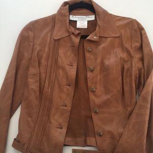 Christian Dior Boutique leather jacket vintage