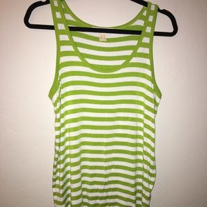 Michael Michael Kors White and green Size Medium