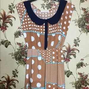 ModCloth Peaches and Cream dress size 4