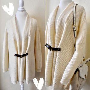 MICHAEL by Michael Kors Cozy Cream Sweater