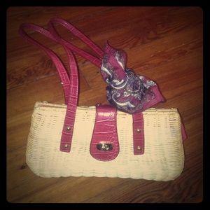 Basket Weave Hangbag