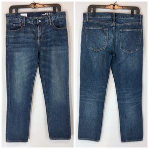 Gap 1969 Sexy Boyfriend Vintage Wash Denim Jeans