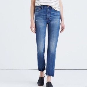 NWT Madewell  Perfect Vintage Jeans size 28