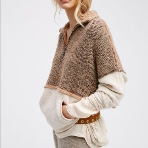 Free People Pop That Collar Pullover Jumper ISO