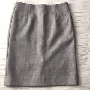 J crew wool skirt