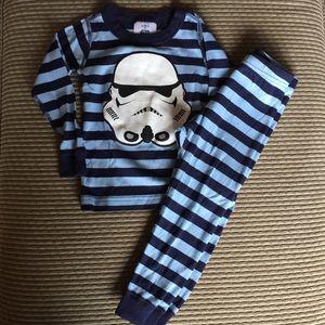 Hannah Andersson Storm Trooper Pajamas