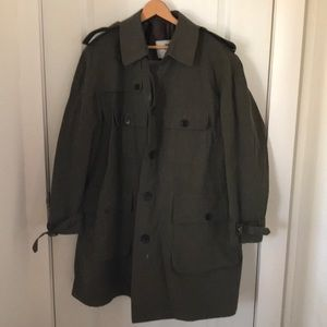 Burberry London Men's Trench Coat Made in England