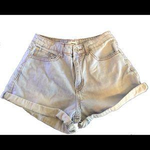 Jean shorts (LIGHT BLUE) Size 24 (XS)