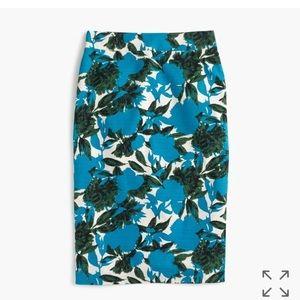J Crew NWT No. 2 pencil skirt size 6