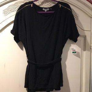 NWT Calvin Klein Black Blouse