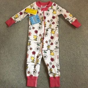 Hanna Andersson Peanuts PJs - Size 60 6-9 months