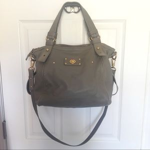 Marc by Marc Jacobs gray leather bag