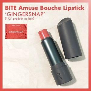 Bite amuse bouche lipstick gingersnap coral pink