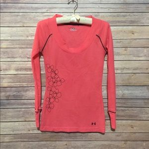 UA Women's Coldgear Thermal Top