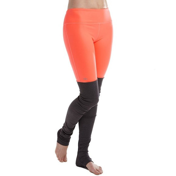 aa22f0ee22a54 ALO Yoga Pants | Alo Goddess Leggings In Volcanostormy Heather ...