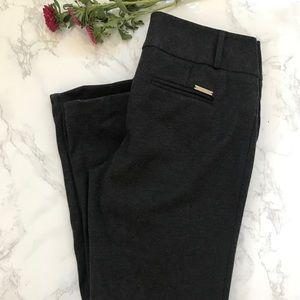 Michael Kors 4 stretchy gray work pants slacks MK