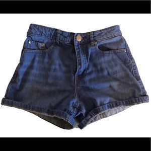 Jean Shorts (DARK BLUE) size 24 (XS)