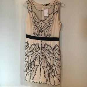 NWT Ivory and black dress