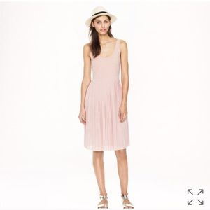 J. Crew Pleated Cotton Midi Dress 6