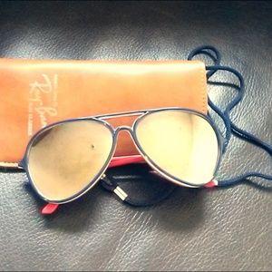 Vintage 70's I Ski Aviator Sunglasses Polarized