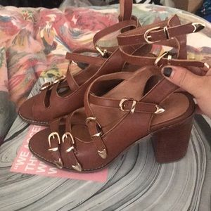 Jeffrey Campbell Buckle Heels