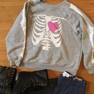 Wildfox My Beating Heart Kim's Sweater