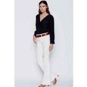 Joie Black Marlo Silk Long Sleeve Shirt