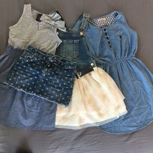Other - Girls dress and skirt bundle