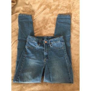 High Waist Jeans by H&M