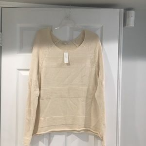 light knit sweater