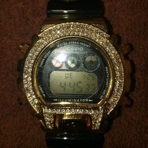 G Shock Watch Iced Out