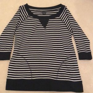 Banana republic stripe knit top!