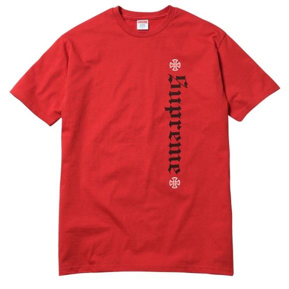 702b643f3af7 Supreme Shirts | X Independent Old English Tee | Poshmark
