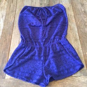 Victorias Secret Swim Suit Romper Coverup