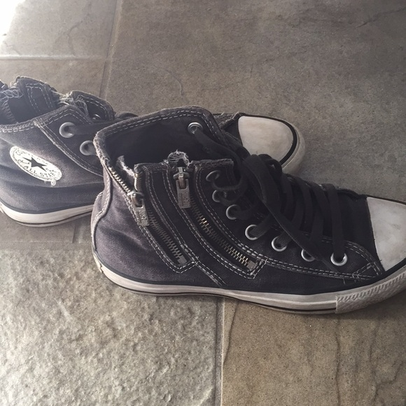 black converse womens size 6