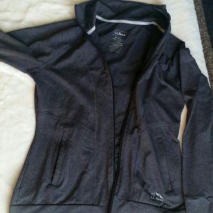Ll bean zip up, athletic type jacket