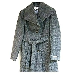 Calvin Klein wool jacket Sz 2