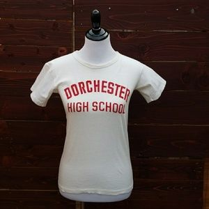 Vintage 50's Dorchester High School Shirt
