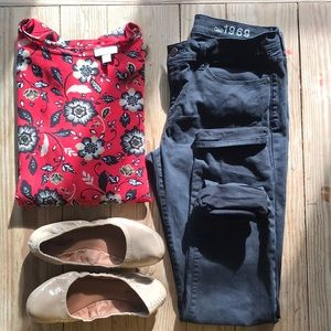 Black gap jeans 👖