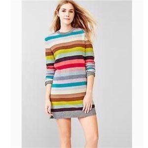 Gap stripes sweater dress