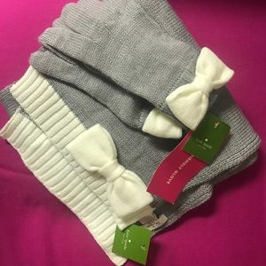 Kate Spade scarf and glove set-BRAND NEW