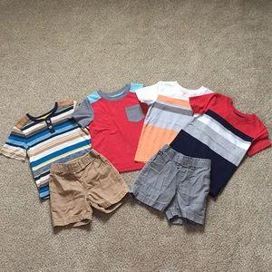 Shirt and short lot