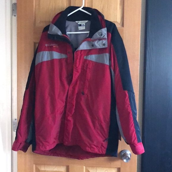 Men's Columbia Cross Terra Interchange Heavy Coat