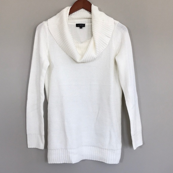 61% off The Limited Sweaters - The Limited winter white cowl neck ...