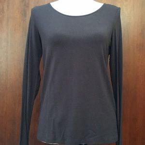 Eileen Fisher stretch long sleeved top