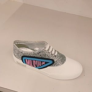 Miu Miu Glitter Sneaker