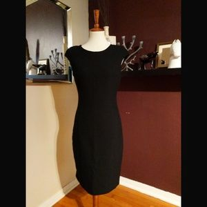 EUC Zara Basic Cap Sleeve Bodycon Dress